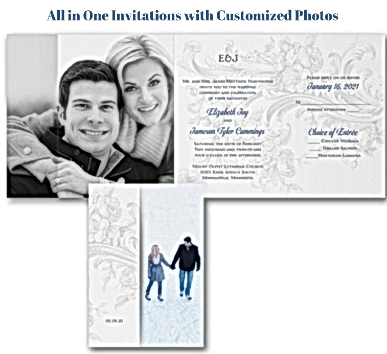 All in One Photo Invitation