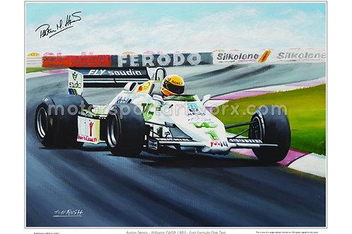 Ayrton Senna, Williams FW08