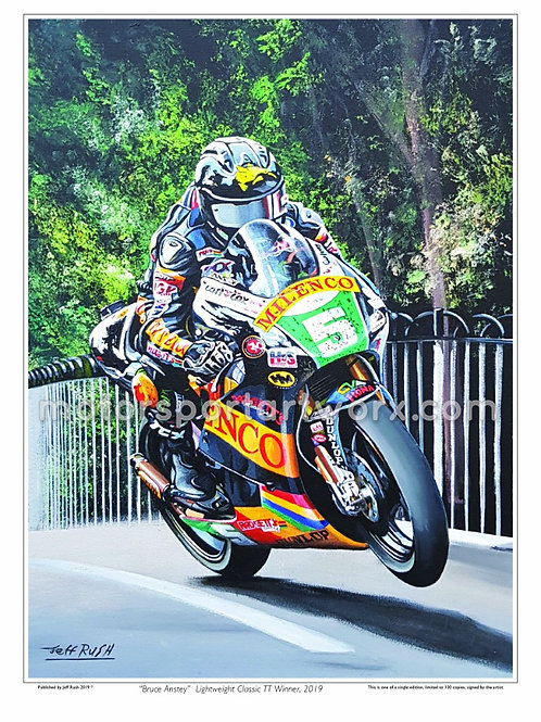 Bruce Anstey (autographed)
