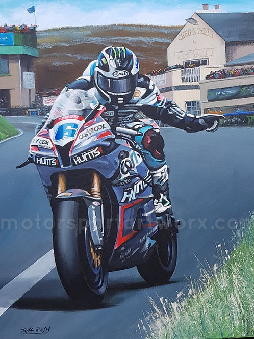 Michael Dunlop at the Creg