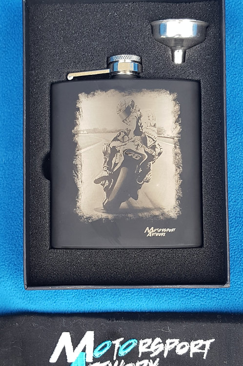 """Forza Rossi"" Hip flask"