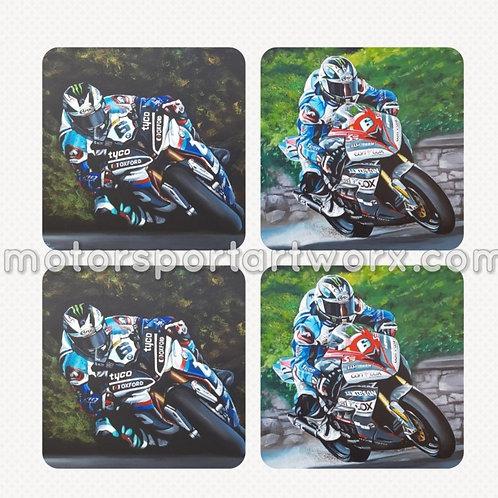 Michael Dunlop Coasters
