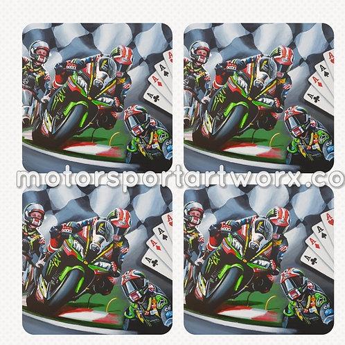 "Jonathan Rea ""4 of a Kind"" Coasters"