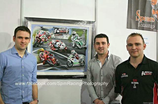 Michael, William dunlop and stephen Morrison