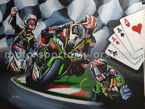 Jonathan Rea, 4 of a Kind.