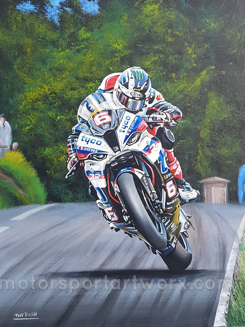 """""""The Bull"""" Michael Dunlop at the Ulster"""