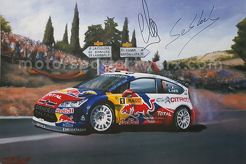 Sebastien Loeb, 7 time WRC Champion