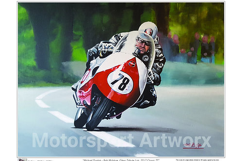 Michael Dunlop/ Bob McIntyre Replica