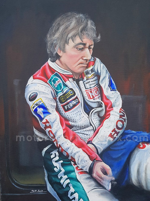"Joey Dunlop ""Contemplation"""