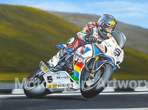 Bruce Anstey Record Lap