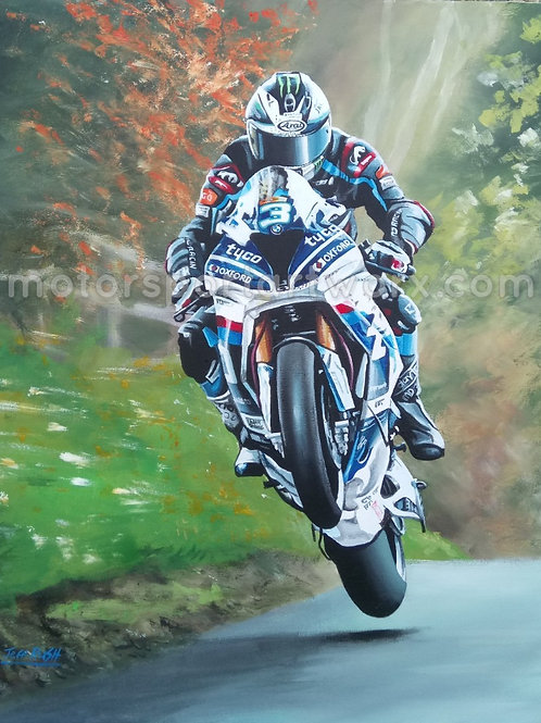 "Michael Dunlop ""The Cookstown Sizzler"""