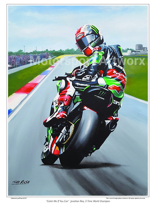 """Jonathan Rea """"Catch me if you can"""""""