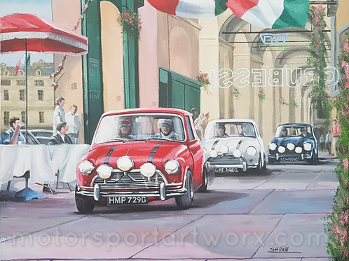 """The Italian Job"" limited edition print"