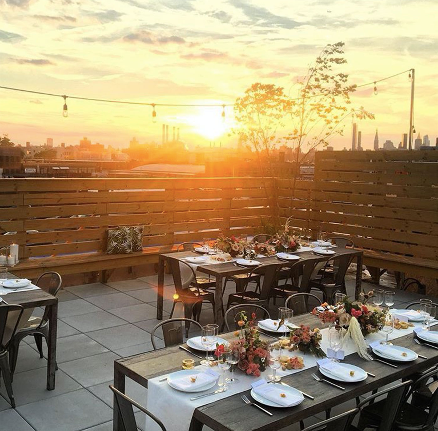 Rooftop Sunset Dinners