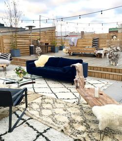 Fall Rooftop Terrace Weddings