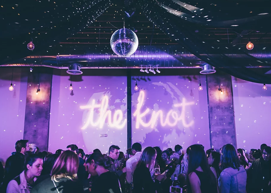 The Knot Pro New York Mixer   Galactic Saloon Party at Dobbin St
