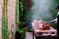 Courtyard Barbecue