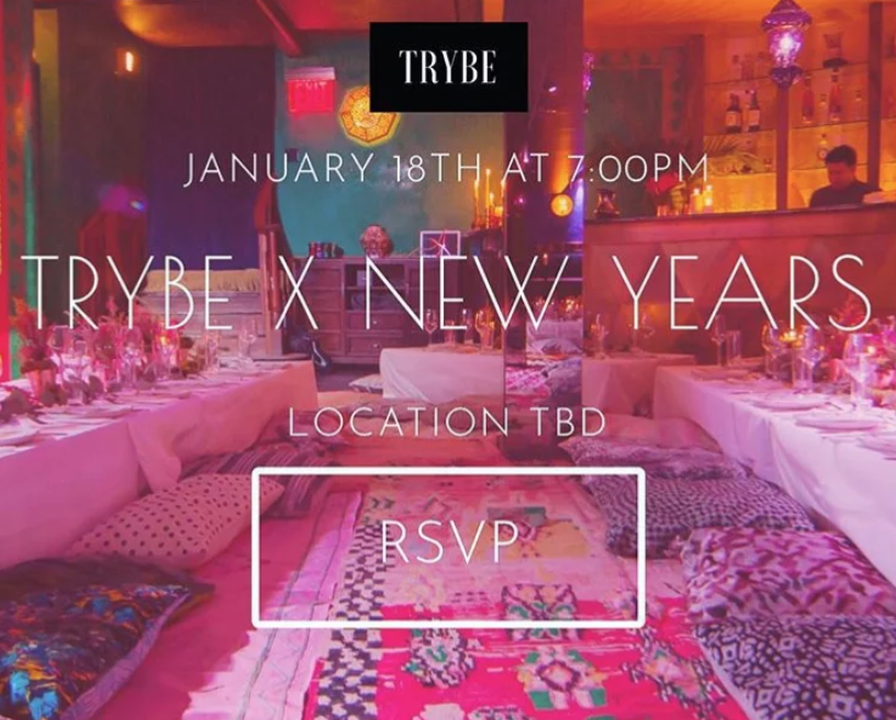 TRYBE x New Year