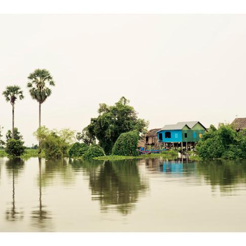 Stilt Village, Long Vek, Cambodia