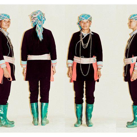 Black Tai Elderly Woman # 1