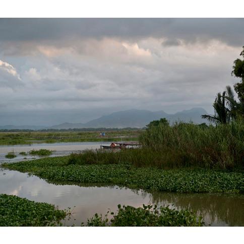 Thu Bon River # 2  Hoi An.