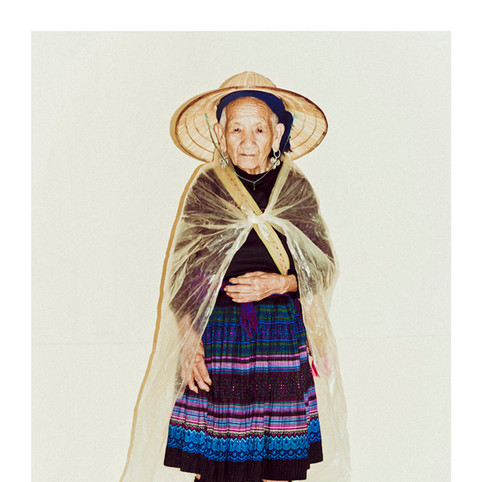 Flower Hmong Elderly Woman # 5