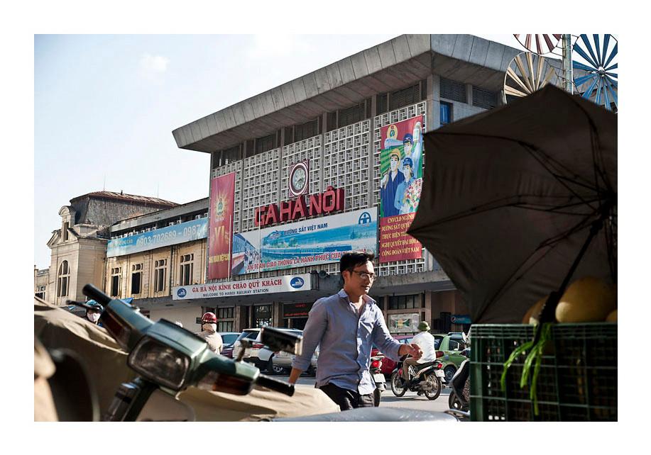 Ga Hà Nội.  Hanoi.