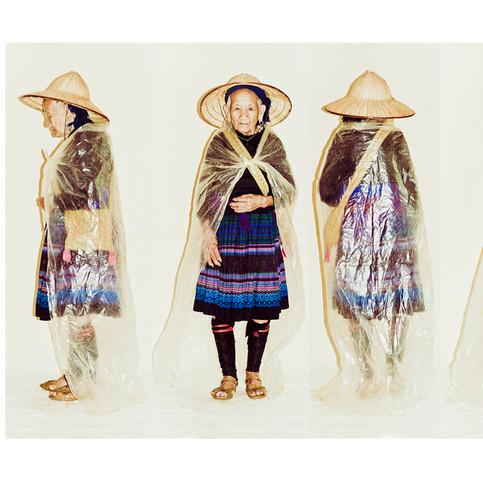 Flower Hmong Elderly Woman # 1