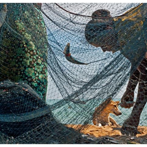 Fisherfolks.  Nilaveli. # 2