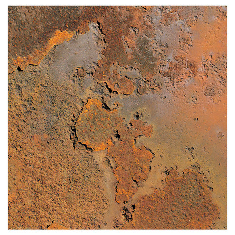 Noupoort, Train Bogey Rust Detail #4