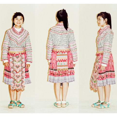 Flower Hmong Teenager # 1