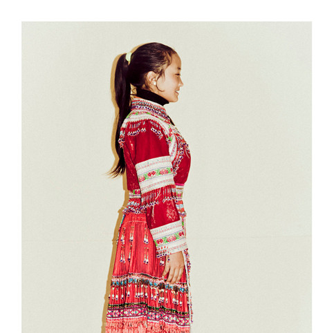 Red Dao Girl # 4