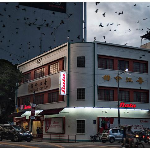 Corner of Jalan Macalister and Lorong Madras # 1