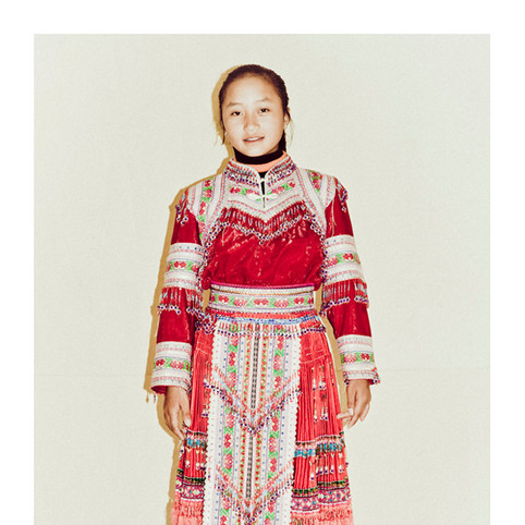 Red Dao Girl # 5