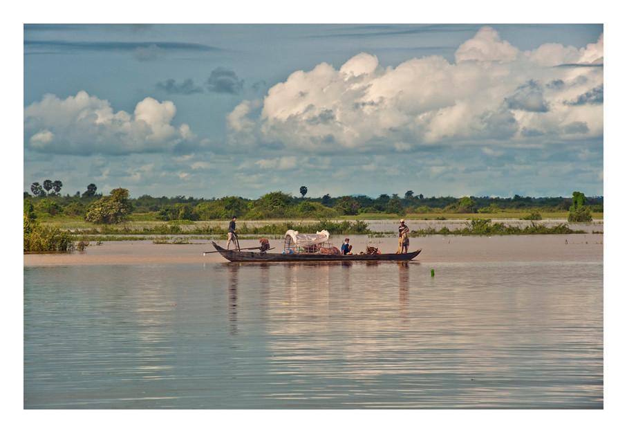 Mekong River, Cambodia,