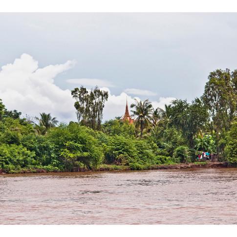 Cambodian Stupa, Srey Santhor
