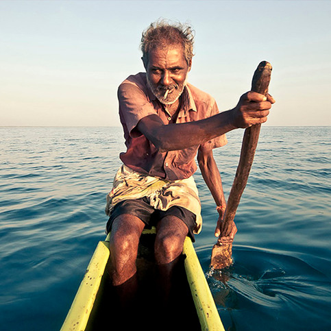 Fisherfolks.  Nilaveli. # 1