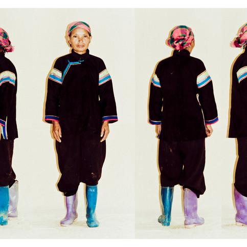 Black Tai Woman # 1