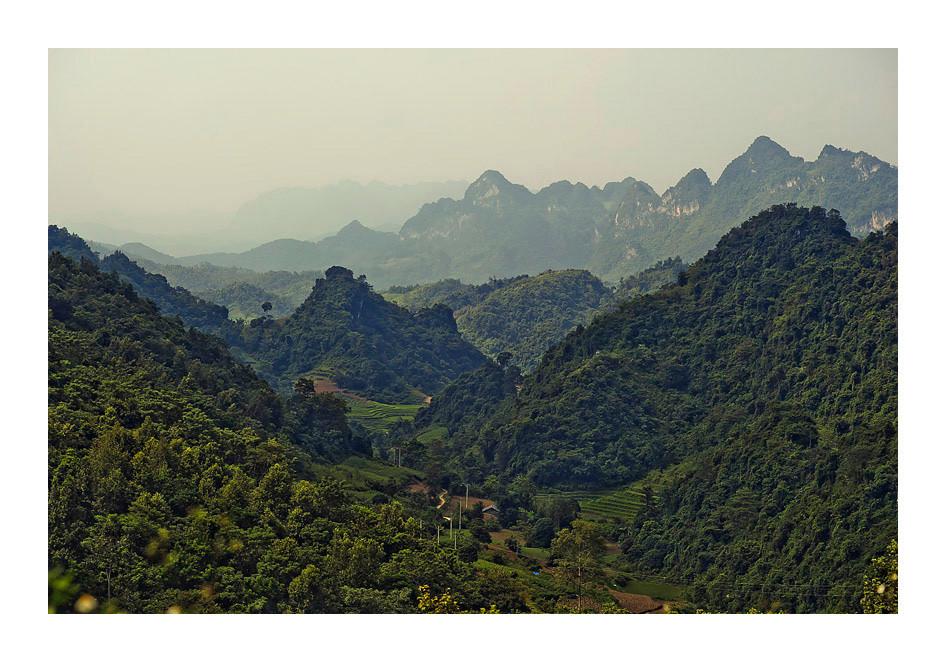 Cao Bang. North Vietnam.