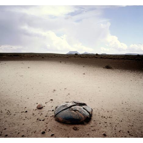 Mountain, Rock, Sand, Dust