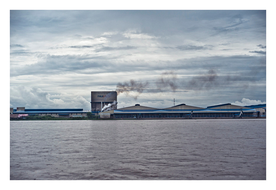 Cement Factory, Outskirts of Phnom Penh, Cambodia