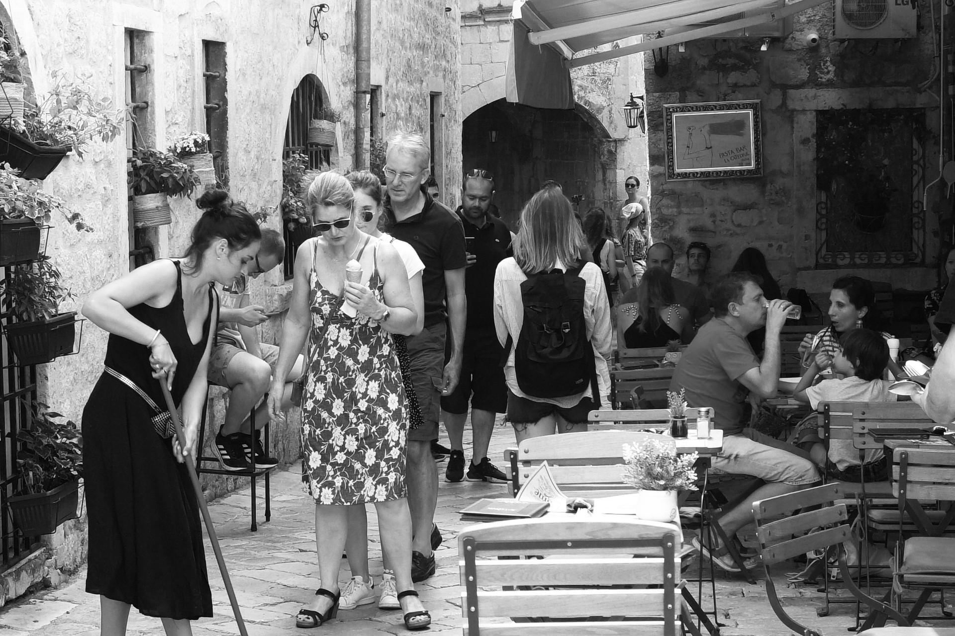 Performance dans la ville