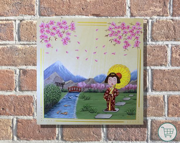 La Geisha et son ombrelle