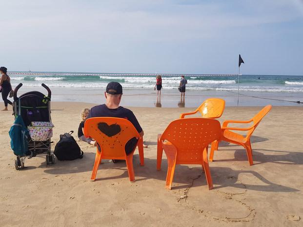 """חוף הצוק ת""""א - גלית רייסמן"""