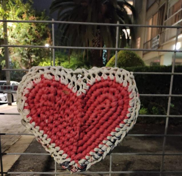 לב בכיכר מילנו תל אביב