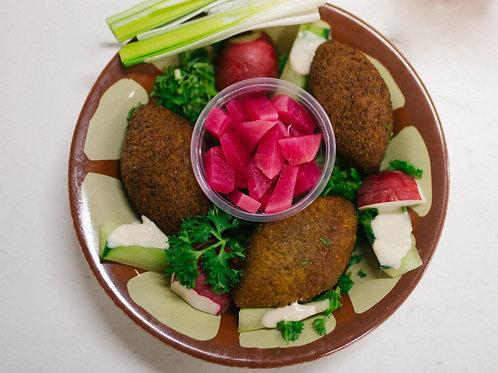"Kibbeh Plate , Store Recipe ""AL™"""