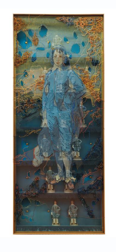 ghost of a blue boy dimitris skourogiann