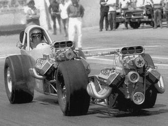 The Rhinoceros – Noel Black's Top Fuel Dragster