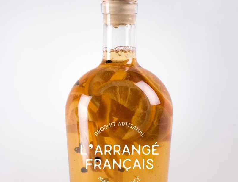 La Bouteille Arrangée : Orange - Cannelle - Poivre