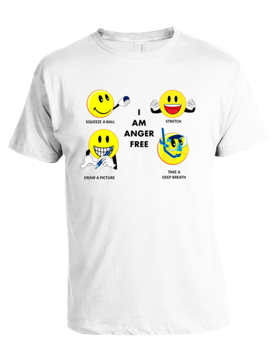 "Featured Product SALE ~ T-Shirt               ""I AM ANGER FREE""  $19.99"
